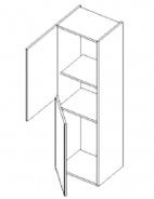 D40SL d. skříňka PIRELLI duglaska bělená levá