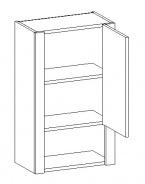 W45 h. skříňka TALIA duglaska/bílá pravá