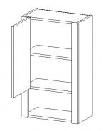 W45 h. skříňka TALIA duglaska/bílá levá