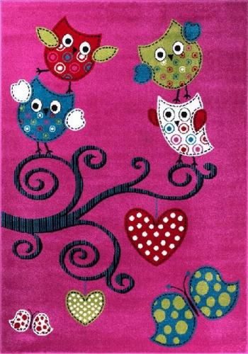 Kusový koberec Kids 420 lila