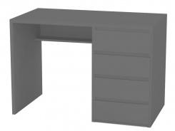 Psací stůl REA Play 2, pravý - graphite