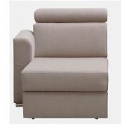 1-sed 1 BB L na objednávku k luxusní sedací soupravě, béžová, levý, MARIETA