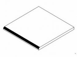 PD do koupelen 30x30 cm bílá