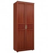 Dvoudvéřová předsíňová skříň Sofia s plnými dveřmi - ořech