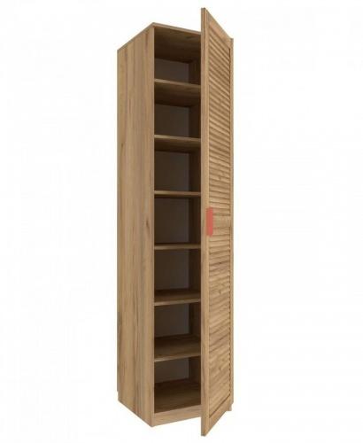 Jednodveřová skříň Brody - dub zlatý