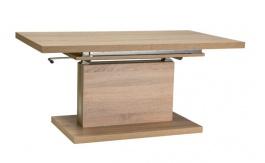Jídelní/konferenční stůl AMBER rozkládací - dub sonoma