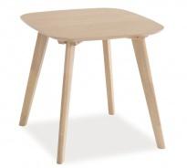 Konferenční stolek ALVIK 50x50 dub