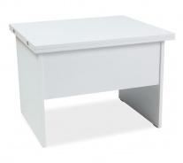 Jídelní/konferenční stůl COSTA B rozkládací - bílá