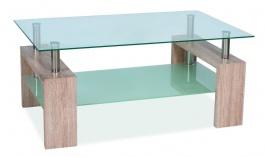 Konferenční stolek LISA II - dub sonoma