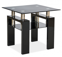 Konferenční stolek LISA D černý