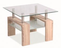 Konferenční stolek LISA D BASIC - dub sonoma