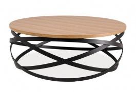Konferenční stolek MARINA dub/černá