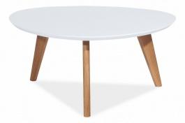 Konferenční stolek MILAN L3 bílý