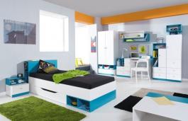 Dětský/Studentský pokoj Moli - výběr barev