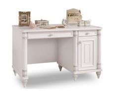 Psací stůl Carmen - bílá