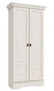 Dvoudveřová šatní skříň Nancy - dub provance