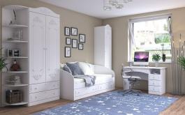 Dětský pokoj v rustikálním stylu Juliet - bílá