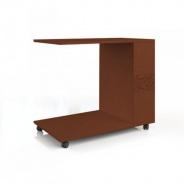 Servírovací stolek k posteli Sofia - ořech