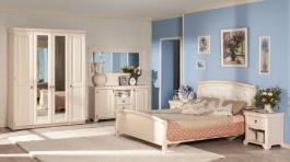 Ložnice Annie II - dub provence bílá