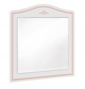 Zrcadlo ke komodě Betty - bílá/růžová