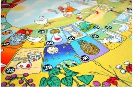 Dětský hrací koberec Spirála