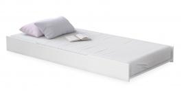 Výsuvné lůžko pod postel Ballerina - bílá
