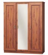 Šatní skříň se zrcadlem TADEÁŠ T-15 dub stoletý