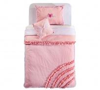Přehoz přes postel 120-140cm Ballerina - růžová