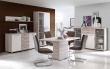 Televizní stolek Beach - dub pískový/bílá