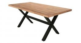 Jídelní stůl Jordan II - dub/buk černý