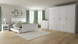 Ložnice Casandra - bílá