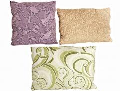 Dekorační polštáře - výběr látek a rozměrů