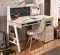 Velký studentský psací stůl Veronica - s nástavcem