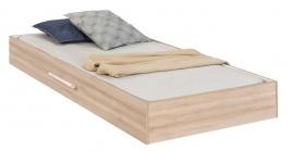 Zásuvka 90x190cm k posteli Veronica - dub světlý/bílá