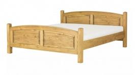 Manželská postel ze dřeva 180x200 ACC 05 - výběr moření