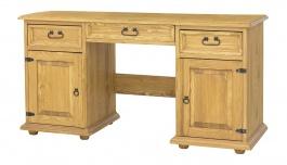Psací stůl ze dřeva BIK 05 selský - výběr moření