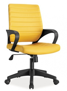 Kancelářské křeslo Q-051 žlutá