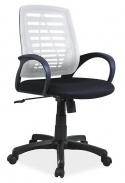 Kancelářské křeslo Q-073 šedá/černá
