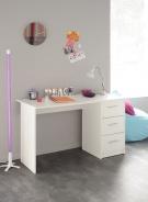 Dětský psací stůl Varios 3S - bílý