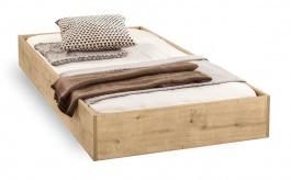 Zásuvka pod postel Cody 90x190cm - dub světlý