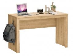 Jednoduchý psací stůl Cody - dub světlý