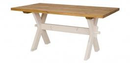 Dřevěný selský stůl 100x200cm MES 16 - výběr moření