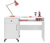 Psací stůl Bjorn, skandinávský styl - bílá