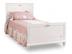 Dětská postel 100x200cm Ema - bílá