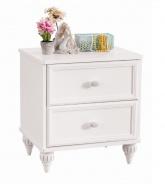 Noční stolek Ema - bílá