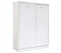 Šatní skříň s posuvnými dveřmi Ema - bílá