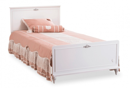 Studentská postel 120x200cm Ema - bílá