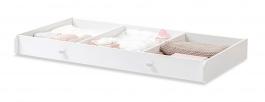 Zásuvka do postýlky pro miminko Ema 70x140cm - bílá