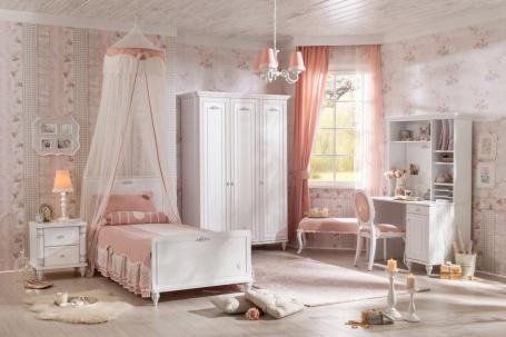 Dívčí pokoj Ema - bílá