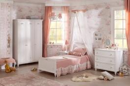 Malý dětský pokoj Ema - bílá
